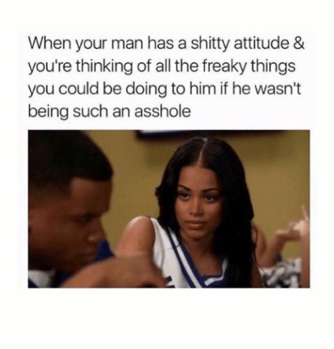 shitty attitude